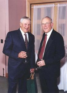 Dicar founders Ron Warll (left) and Bud Kirkpatrick (right)